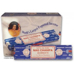 Nag Champa 12 x 40g Export